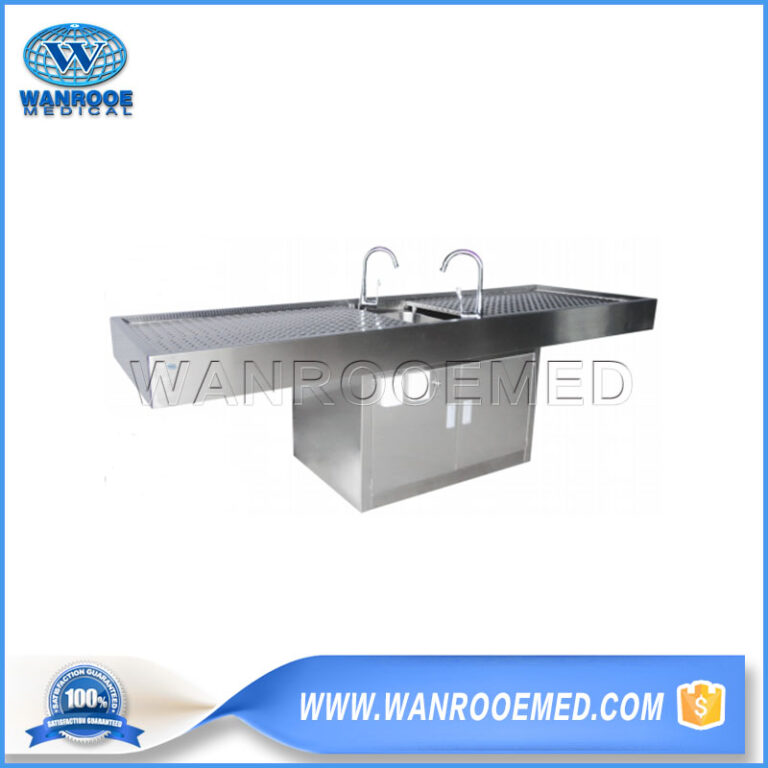 Dissection Table, Animal Dissection Table, Multi-functional Dissection Table, Diploid Autopsy Table, Stainless Steel Autopsy Table