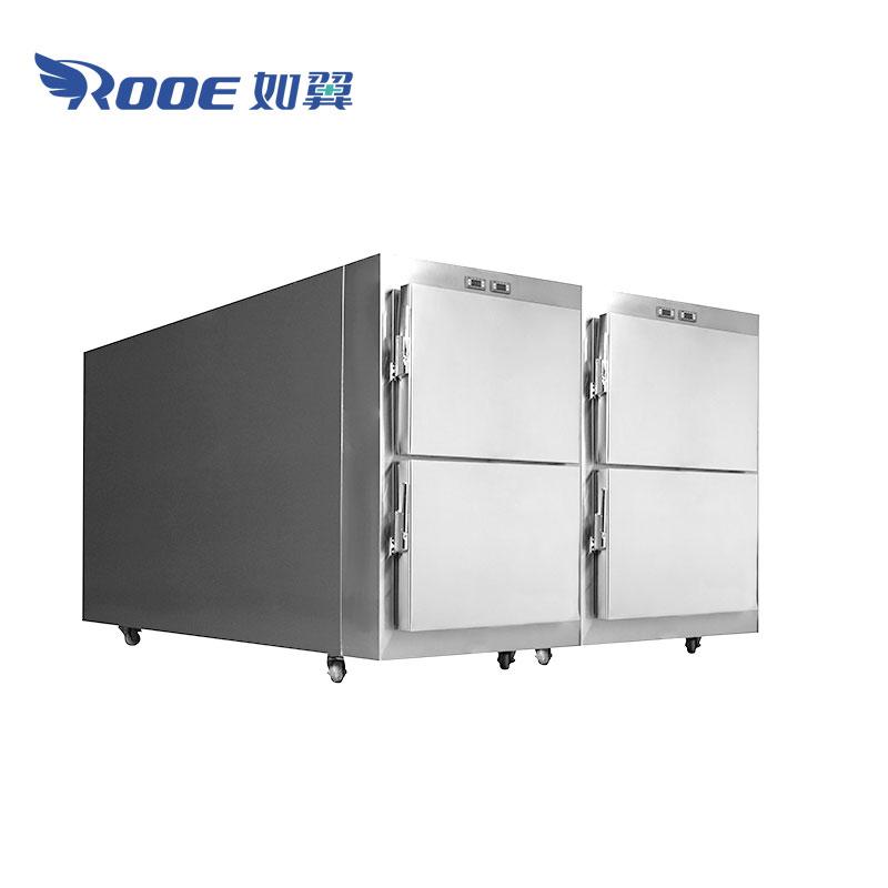 Mortuary Fridge Cabinet, Cadaver Refrigerator, Morgue Refrigerator, Corpse Refrigerator, Morgue Freezer