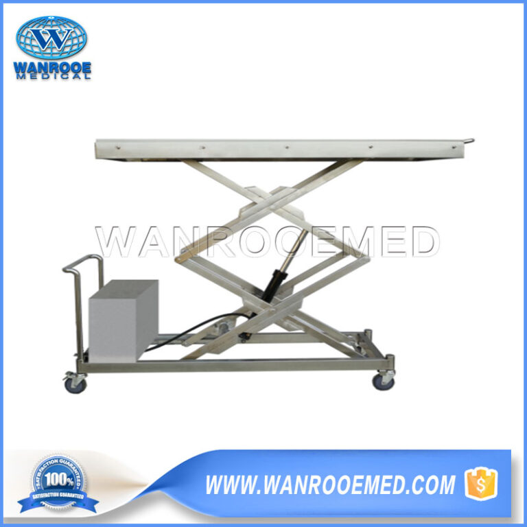 Hydraulic Casket Lift, Electric Mortuary Lifter, Hydraulic Lifting Trolley, Electric Coffin Lifter, Casket Lifter
