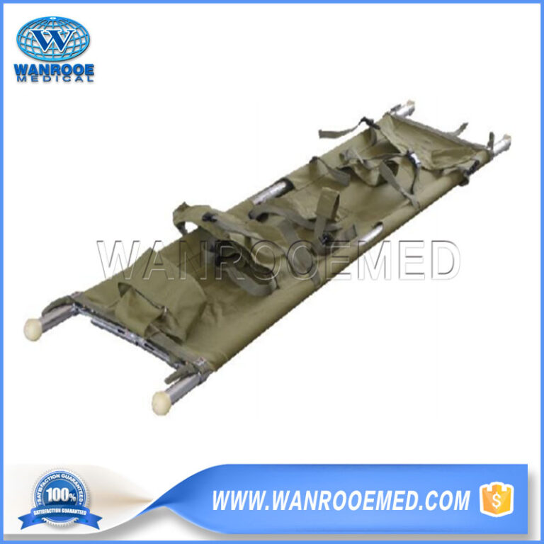 Marine Stretcher, Folding Stretcher, Hospital Folding Stretcher, Aluminum Alloy Stretcher, Emergency Rescue Stretcher