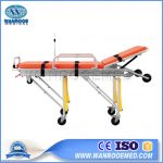 Emergency Ambulance Cot, Ambulance Stretcher, Hospital Stretcher, Transport Stretcher, Stainless Steel Ambulance Stretcher