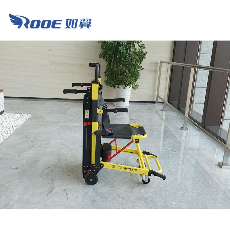 evacuation chair,chair climbing wheelchair,stair crawler,wheelchair stair crawler,ems evacuation stair chair