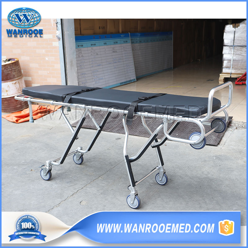 Adjustable Mortuary Stretcher, Economic Mortuary Cot, Mortuary Trolley, Funeral Mortuary Stretcher, Funeral Corpse Trolley