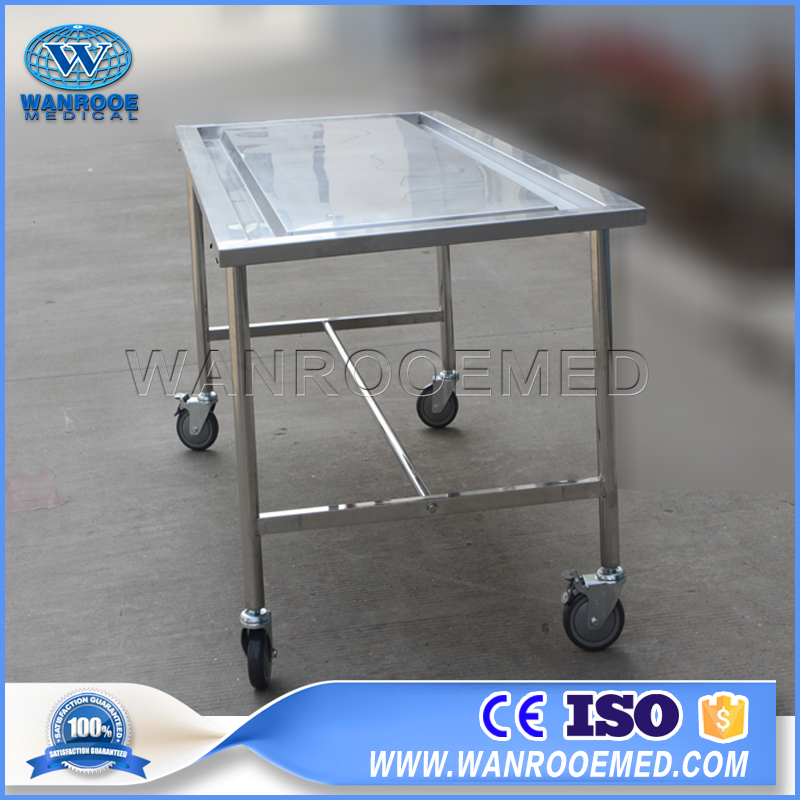 Autopsy Table, Hospital Mortuary Autopsy Table, Embalming Table, Funeral Embalming Table